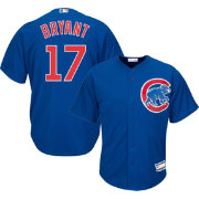 Youth Replica Chicago Cubs Kris Bryant #17 Alternate Royal Jersey