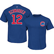 Majestic Youth Chicago Cubs Kyle Schwarber #12 Royal T-Shirt