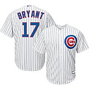 Youth Replica Chicago Cubs Kris Bryant #17 Home White Jersey