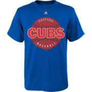 Majestic Youth Chicago Cubs Electric Baseball Royal T-Shirt