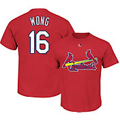 Majestic Youth St. Louis Cardinals Kolten Wong #16 Red T-Shirt