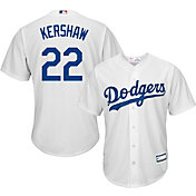 Youth Replica Los Angeles Dodgers Clayton Kershaw #22 Home White Jersey