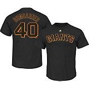 Majestic Youth San Francisco Giants Madison Bumgarner #40 Black T-Shirt