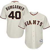 Youth Replica San Francisco Giants Madison Bumgarner #40 Home Ivory Jersey