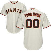 Majestic Youth Custom Cool Base Replica San Francisco Giants Home Ivory Jersey
