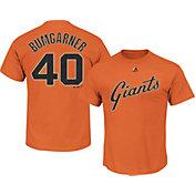 Majestic Youth San Francisco Giants Madison Bumgarner #40 Orange T-Shirt