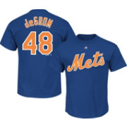Majestic Youth New York Mets Jacob deGrom #48 Royal T-Shirt