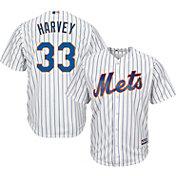 Majestic Youth Replica New York Mets Matt Harvey #33 Cool Base Home White Jersey