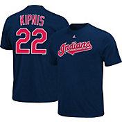 Majestic Youth Cleveland Indians Jason Kipnis #22 Navy T-Shirt