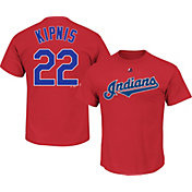 Majestic Youth Cleveland Indians Jason Kipnis #22 Red T-Shirt
