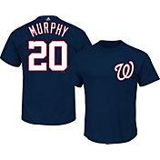 Majestic Youth Washington Nationals Daniel Murphy #20 Navy T-Shirt