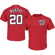 Majestic Youth Washington Nationals Daniel Murphy #20 Red T-Shirt