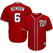 Majestic Youth Replica Washington Nationals Anthony Rendon #6 Cool Base Alternate Red Jersey