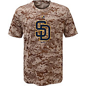 Majestic Youth San Diego Padres Cool Base Digi Camo T-Shirt