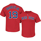 Majestic Youth Boston Red Sox Jackie Bradley Jr. #25 Red T-Shirt