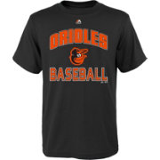 "Majestic Youth Baltimore Orioles Black ""Orioles Baseball"" T-Shirt"