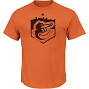 Majestic Youth Baltimore Orioles Going Home Orange T-Shirt