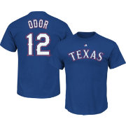 Majestic Youth Replica Texas Rangers Rougned Odor #12 Cool Base Alternate Royal Jersey