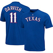 Majestic Youth Texas Rangers Yu Darvish #11 Royal T-Shirt
