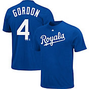 Majestic Youth Kansas City Royals Alex Gordon #4 Royal T-Shirt
