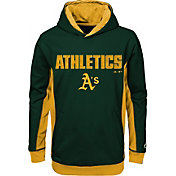 Majestic Youth Oakland Athletics Geo Strike Green Hoodie