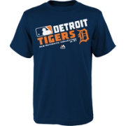 Majestic Boys' Detroit Tigers Authentic Collection Navy T-Shirt