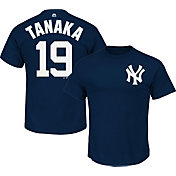 Majestic Youth New York Yankees Masahiro Tanaka #19 Navy T-Shirt