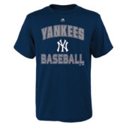 "Majestic Youth New York Yankees Navy ""Yankees Baseball"" T-Shirt"