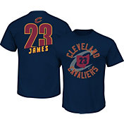 Majestic Youth Cleveland Cavaliers LeBron James #23 Navy T-Shirt
