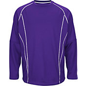 Majestic Boys' On-Field Practice Pullover