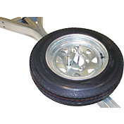 Malone Galvanized Spare Trailer Tire