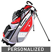 Maxfli U/Series 4.0 Personalized Stand Bag – Red/Grey