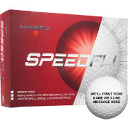 Maxfli SpeedFli Personalized Golf Balls