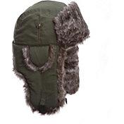 Mad Bomber Men's Olive Supplex Faux Fur Bomber Hat