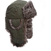 Mad Bomber Men's Olive Supplex Faux Fur Bomber Hat