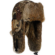Mad Bomber Men's Mossy Oak Infinity Saddlecloth Trapper Hat