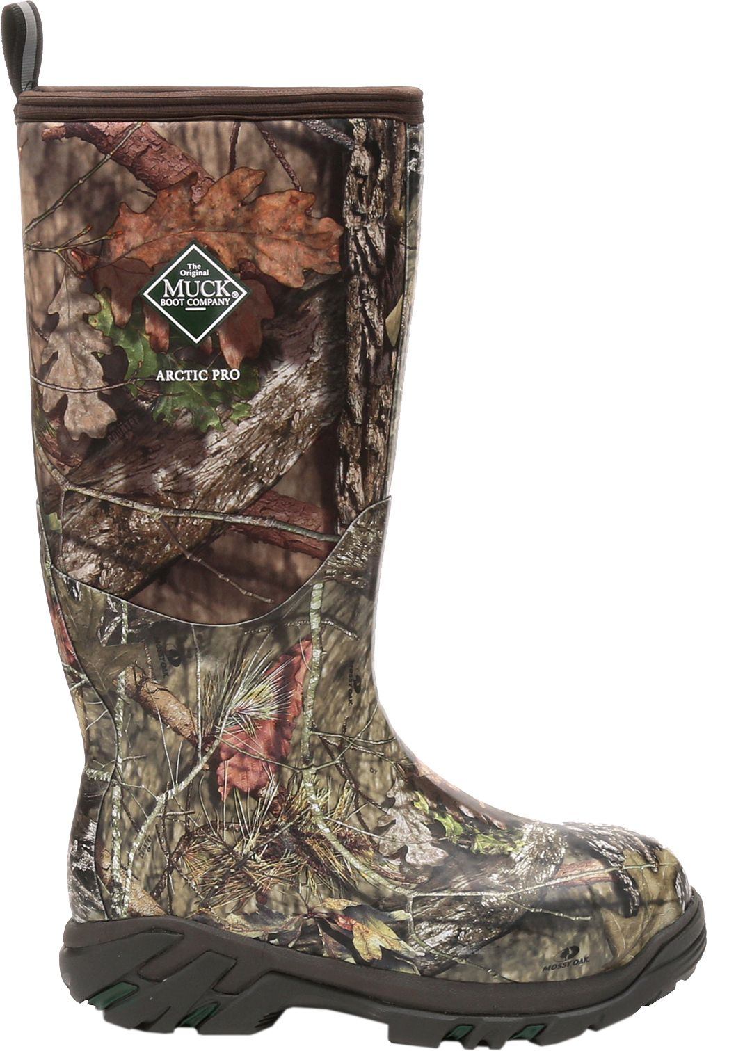 Muck Boot Men's Arctic Pro Mossy Oak Break-Up Rubber Hunting Boots ...