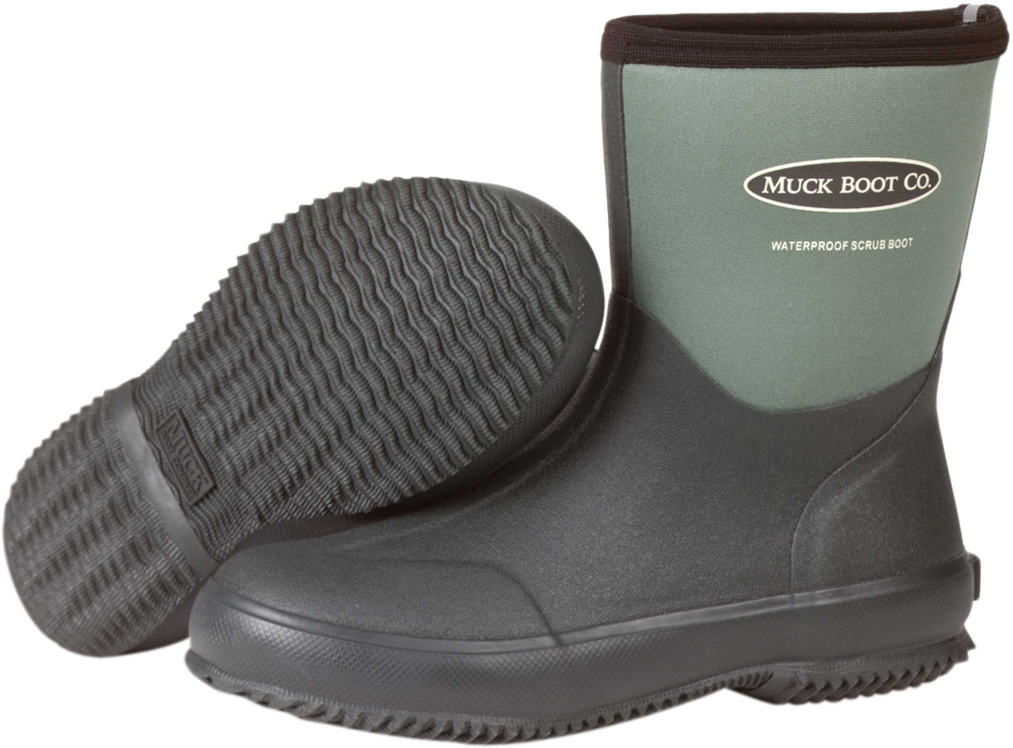 Muck Boot Waterproof Scrub Boots| DICK'S Sporting Goods