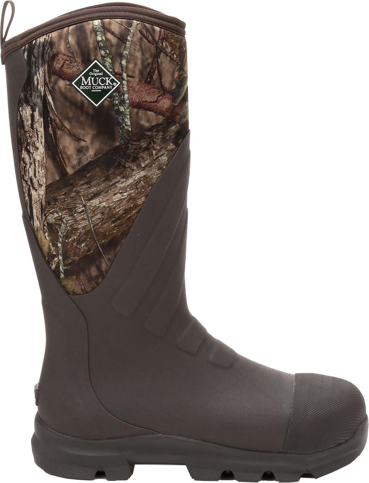 Muck Boot Men's Woody Grit Mossy Oak Country Steel Toe Rubber ...