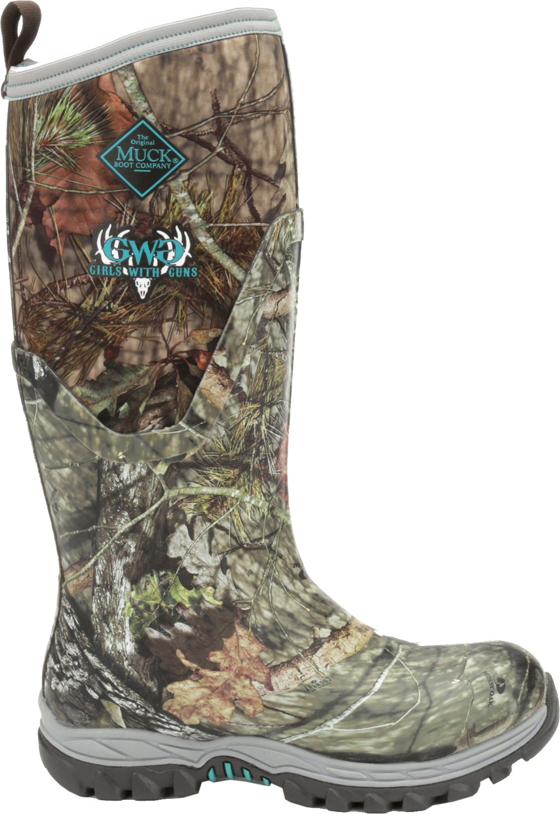 Muck Boot Women's Girls With Guns Arctic Hunter Tall Mossy Oak ...