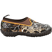 Muck Boots Kids' Muckster II Camo Waterproof Low Shoes