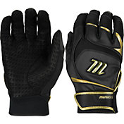 Marucci Adult Gold Signature Series Batting Gloves 2017