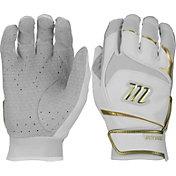 Marucci Adult Gold Signature Series Batting Gloves