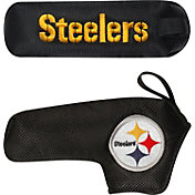 McArthur Sports Pittsburgh Steelers Shaft Gripper Blade Putter Cover