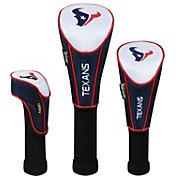 McArthur Sports Houston Texans 3-Pack Headcovers