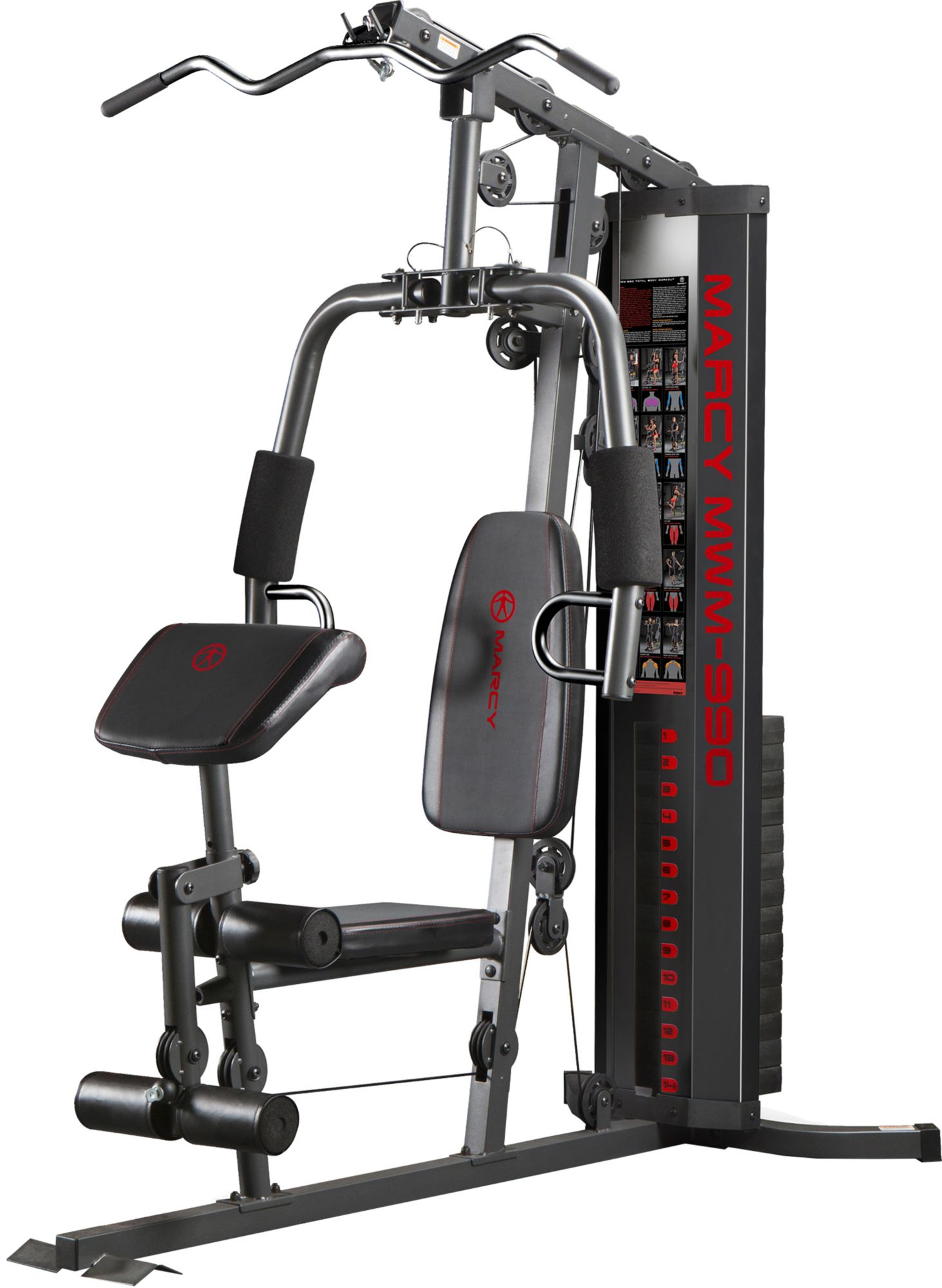 Home gym  Marcy 150lb Stack Home Gym | DICK'S Sporting Goods
