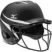 Mizuno S/M MVP Batting Helmet w/ Fastpitch Mask
