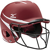 Mizuno Women's OSFM MVP Batting Helmet w/ Mask