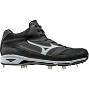 MIZUNO Men's Dominant IC Metal Mid Baseball Cleats