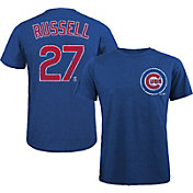 Majestic Threads Men's Chicago Cubs Addison Russell #27 Royal T- Shirt